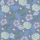 Leaf & Flower Pattern by aldona