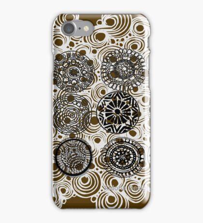 circle doodle design ( 1298 Views) iPhone Case/Skin