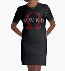 What Would Kratos Do? Graphic T-Shirt Dress