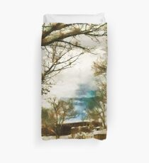 Early Snow Duvet Cover