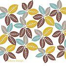 fabric leaf pattern (151 Views) by aldona