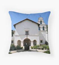 Mission San Juan Bautista Throw Pillow