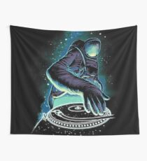 SPACE DJ Wall Tapestry
