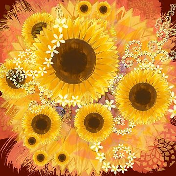Sunflower Bouquet by DreaMground