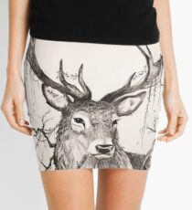 Within The Sleeping Forest  Mini Skirt