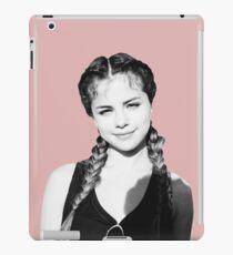 Selena Braids iPad Case/Skin