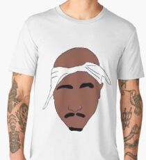 Pac Inspired Minimalism Men's Premium T-Shirt