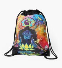 Gratitude Drawstring Bag