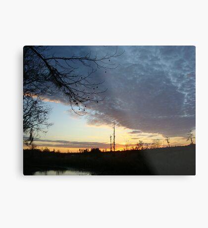 Sunset Extravaganza Metal Print