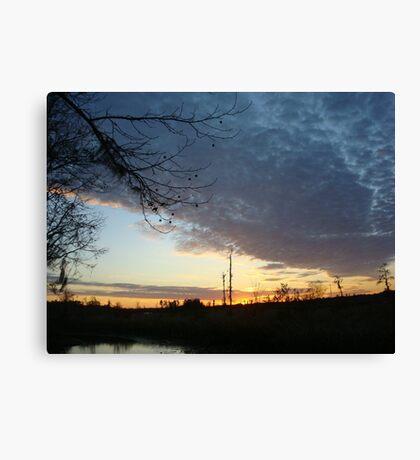 Sunset Extravaganza Canvas Print
