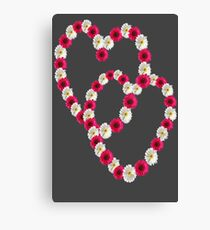 ✿⊱╮  ✿⊱╮DAISY HEARTS CONNECTION✿⊱╮  ✿⊱╮ Canvas Print