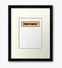 Matchbox Toys For Adults Framed Print