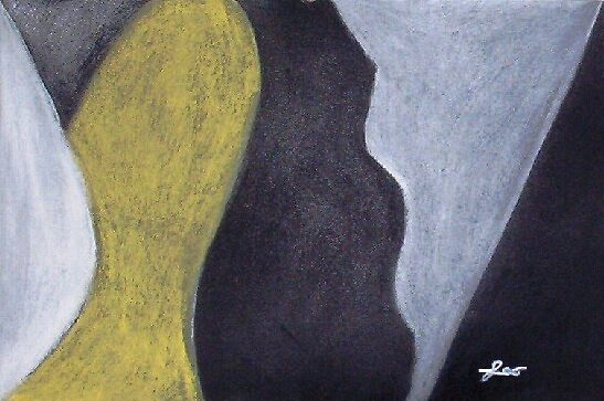 Yellow Black Bird by leoartist
