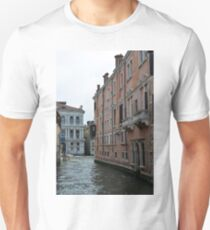 Buildings near canal in Venice, Italy  Unisex T-Shirt