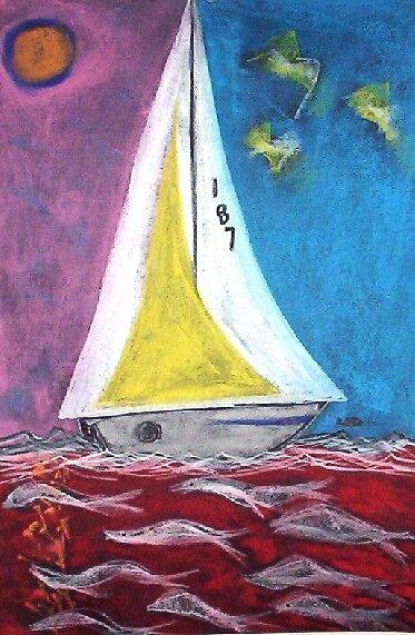 1 8 7 take sail by leoartist