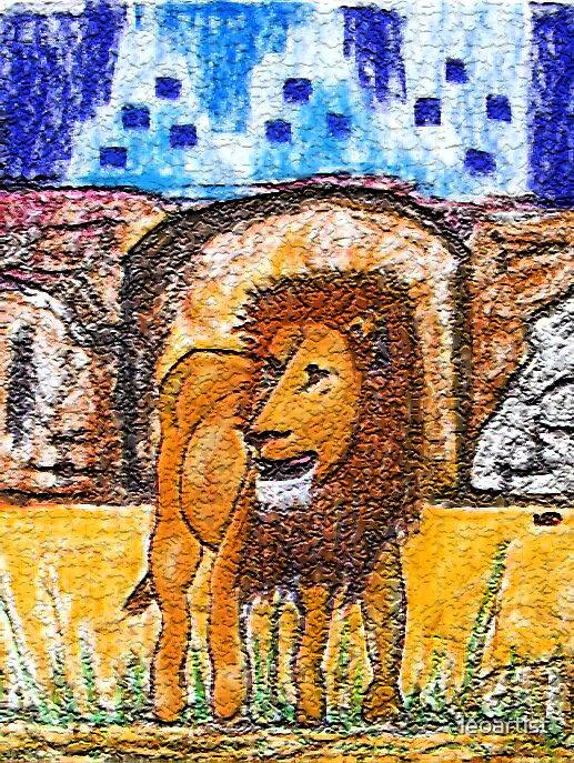 My_Lion_2 by leoartist