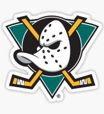 The Mighty Ducks Logo Sticker