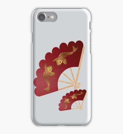 Geisha& Japanese fan(15503  views) iPhone Case/Skin