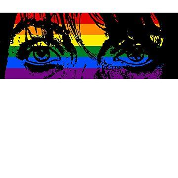 Pride eyes flag by wearingpride