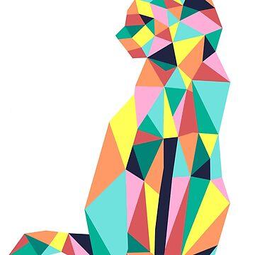 Geometric Cat II by annac99