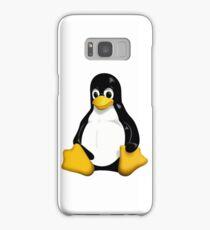 linux penguin cute Samsung Galaxy Case/Skin