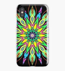 Simetric Colorful Ethnic Mandala Flower - Zentangle iPhone Case/Skin