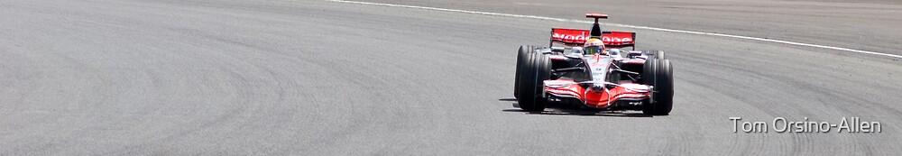 Lewis Hamilton - Silverstone 2008 III by Tom Allen