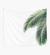 Tropical Palm Leaves Wall Tapestry