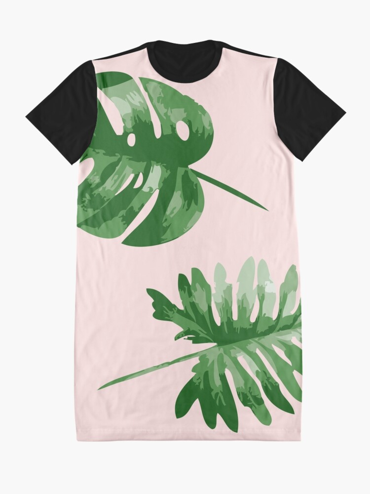 Alternative Ansicht von Monstera T-Shirt Kleid
