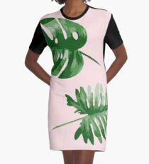 Monstera  Graphic T-Shirt Dress