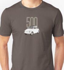 Camiseta unisex El increíble Fiat 500
