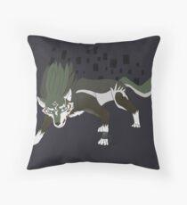 Wolf link - Zelda Twilight Princess Throw Pillow