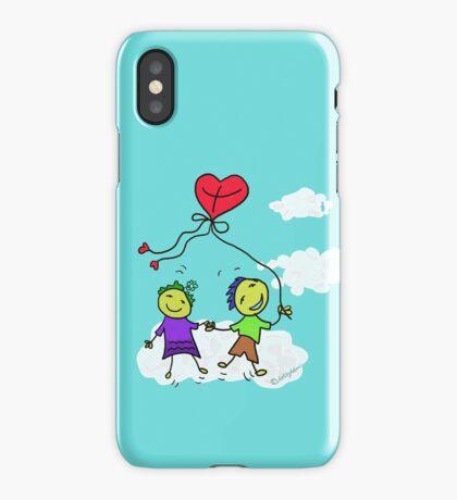 The heart shaped kite iPhone Case/Skin