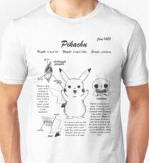 Pikachu anatomy T-Shirt