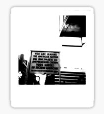 Checkpoint Charlie, Berlin Sticker