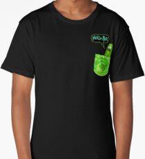 Pickle rick pocket Long T-Shirt