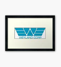 Weyland Corp Framed Print