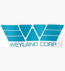 Weyland Corp Poster