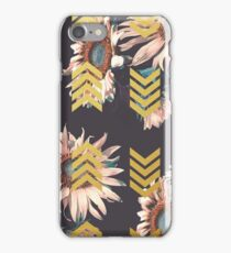 Gold sunflowers iPhone Case/Skin