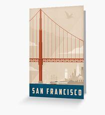 San Francisco Creme Greeting Card