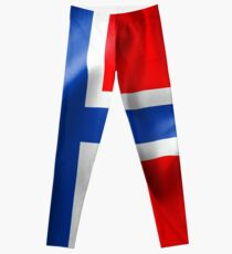 Norwegen Flagge Leggings