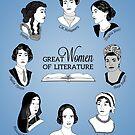 Great Women of Literature by geeksweetie