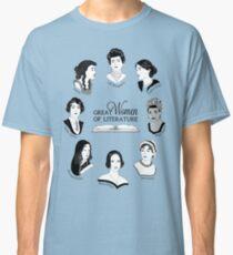 Camiseta clásica Grandes mujeres de la literatura