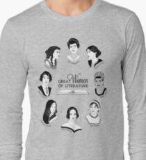 Great Women of Literature Long Sleeve T-Shirt