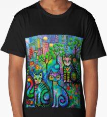Metropolitan cats Long T-Shirt