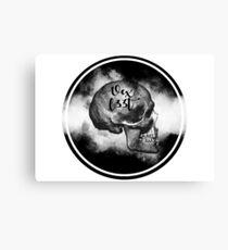 Vexl33t Circular Skull Canvas Print