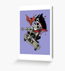 All hands on Deck Greeting Card