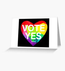 vote YES !!! Greeting Card