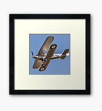 Hawker Demon I K8203 G-BTVE Framed Print