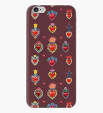 Mexican Sacred Hearts iPhone Case